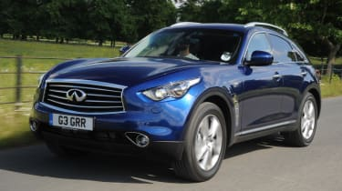 Infiniti FX front tracking