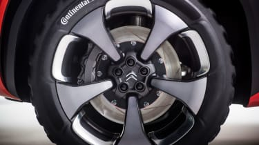 Citroen Aircross concept - wheel
