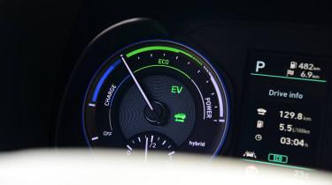 Hyundai Kona Hybrid - dials