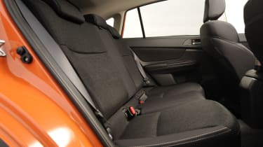 Subaru XV rear seats