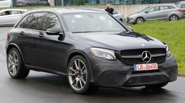 Mercedes-AMG GLC 63 - testing