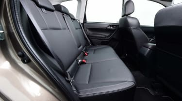 Subaru Forester - rear seats