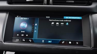 Jaguar XF Sportbrake - infotainment