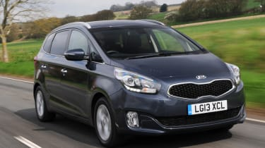 Kia Carens 2 1.7 CRDi front tracking