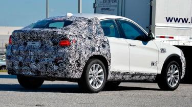 BMW X4 rear quater