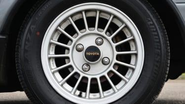 Toyota AE86 wheel detail