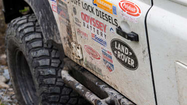 Green Laning  - Land Rover Defender stickers