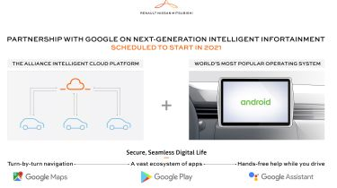 Renault-Nissan-Mitsubishi joins with Google to create new car infotainment systems