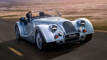 Morgan Plus Six - front