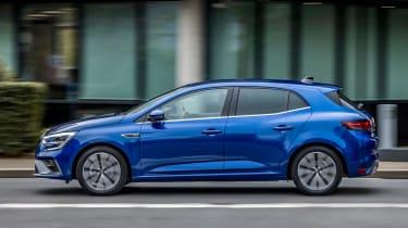 Renault Megane facelift - side
