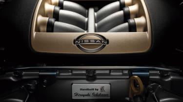 2022 Nissan GT-R - engine