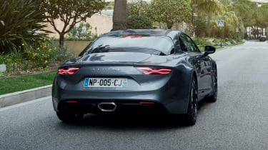 Alpine A110 - Legende rear