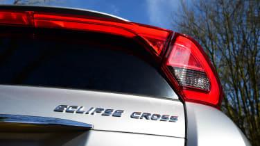 Mitsubishi Eclipse Cross long-term - final report rear detail