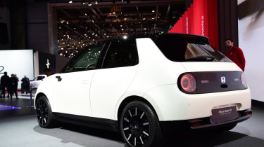 Honda e-Prototype show pics