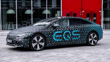 Mercedes EQS prototype - front static