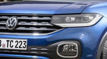 Volkswagen T-Cross - front grille
