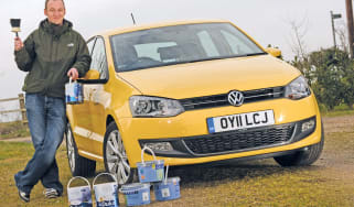 VW Polo header