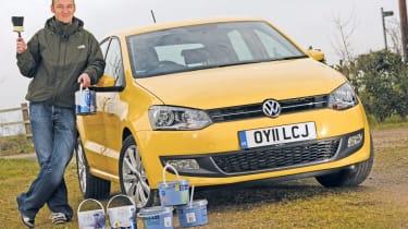 VW Polo header