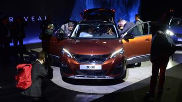 Peugeot 3008 big reveal - show car brown