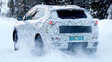 Vauxhall Mokka X spied rear