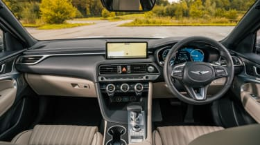 Genesis G70 - interior