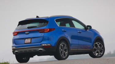 Kia Sportage - rear static