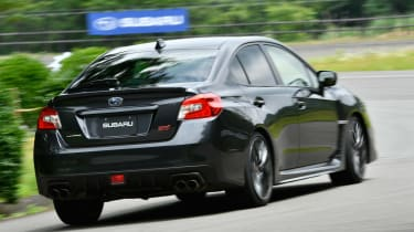 Subaru WRX STI - rear