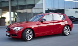 BMW 114d side