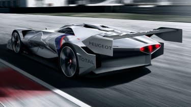 Peugeot L750 R - rear