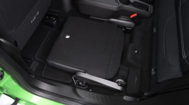 Smart ForFour ED - folded seat