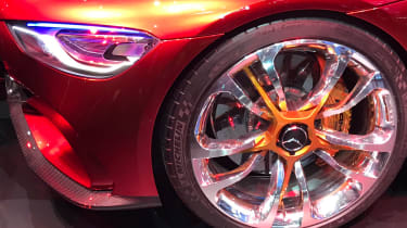 Mercedes-AMG GT Concept show - wheel