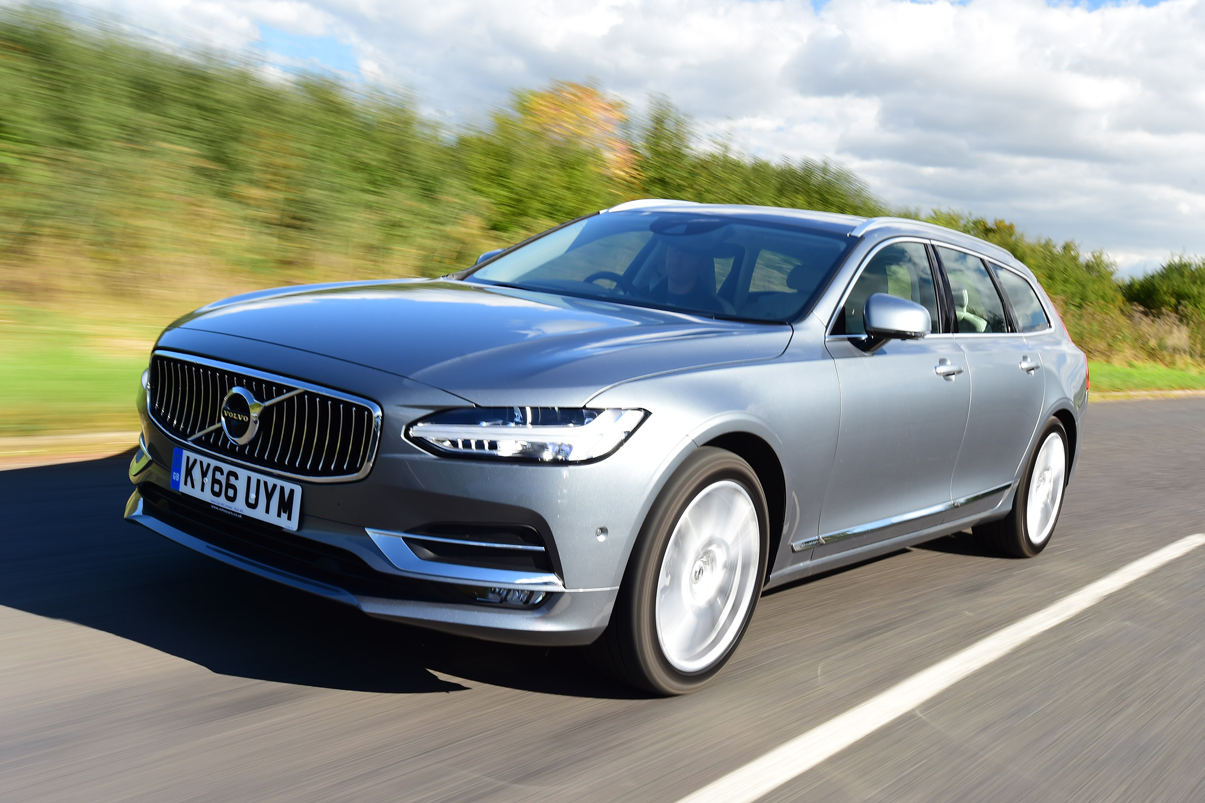 Volvo V90 Practicality Boot Size Dimensions Luggage Capacity Auto Express