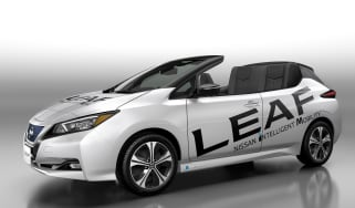 Nissan Leaf Open Air - front