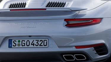 New 2016 Porsche 911 Turbo Cab rear
