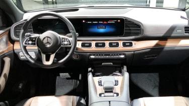 Mercedes GLE 350 de - Frankfurt dash