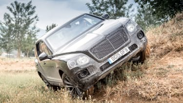 Bentley Bentayga prototype first drive - off road