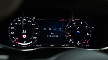 Jaguar F-Pace SVR - dials