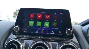 Nissan Juke infotainment