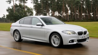 BMW 5 Series saloon 2013 front track
