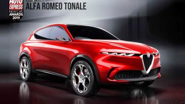 Alfa Romeo Tonale - 2019 Design Award