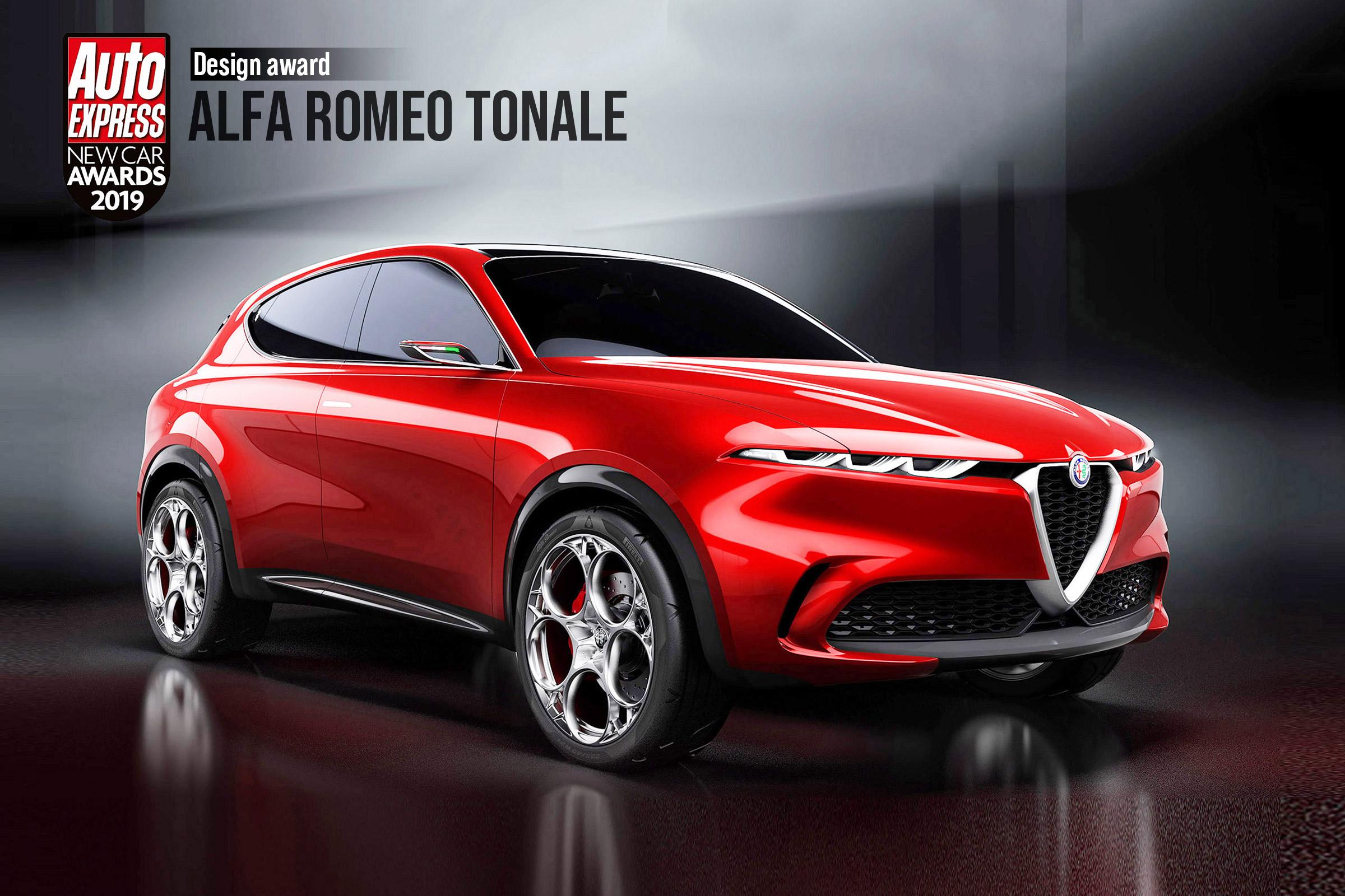 Design Award 2019 Alfa Romeo Tonale Auto Express