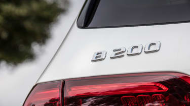 Mercedes B-Class badge
