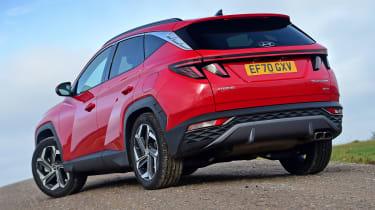 Hyundai Tucson MHEV - rear static