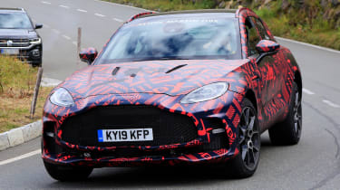 Aston Martin DBX S - spyshot 1