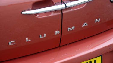 MINI Clubman boot doors