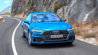 Audi A7 Sportback - front panning