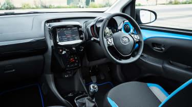 Used Toyota Aygo Mk2 - cabin