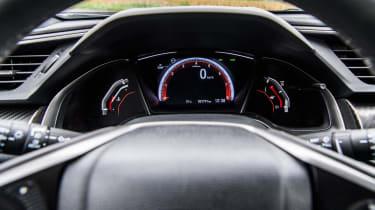 Honda Civic 2016 prototype - steering wheel