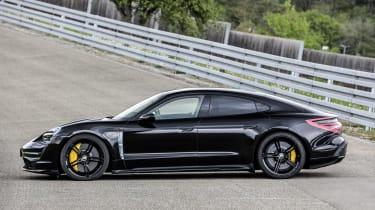 Porsche Taycan - side