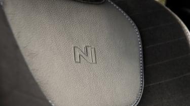 Hyundai i30 N - seat detail